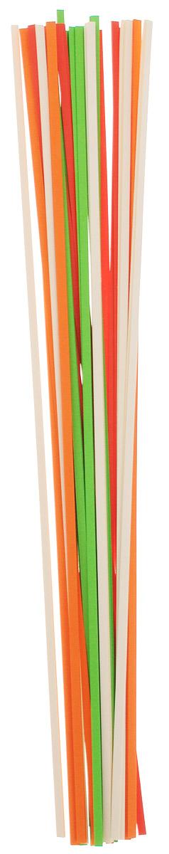 Апплика Бумага для квиллинга ширина 3 мм 4 цвета 200 штС1273-01Бумага для квиллинга Апплика - это порезанные специальным образом полоски бумаги определенной плотности. Такая бумага пластична, не расслаивается, легко и равномерно закручивается в спираль, благодаря чему готовым спиралям легче придать форму. В упаковке 200 полосок бумаги четырех цветов. Квиллинг - техника изготовления плоских или объемных композиций из скрученных в спирали длинных и узких полосок бумаги. Из бумажных спиралей создаются необычные цветы и красивые витиеватые узоры, которые в дальнейшем можно использовать для украшения открыток, альбомов, подарочных упаковок, рамок для фотографий и даже для создания оригинальных бижутерий. Это простой и очень красивый вид рукоделия, не требующий больших затрат.
