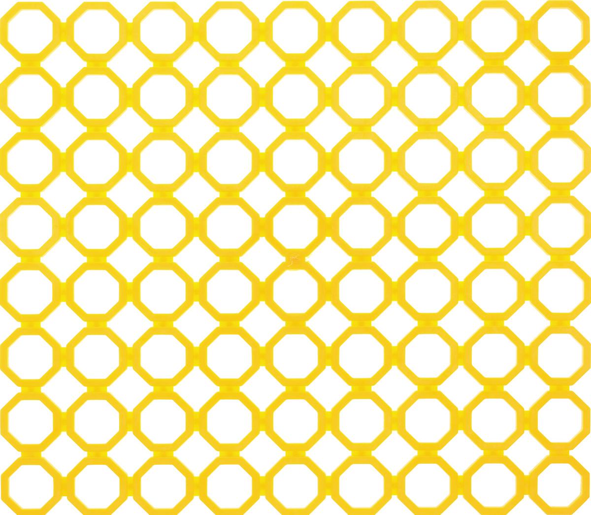 Коврик для раковины York, цвет: желтый, 29 х 25,7 см9562_желтыйСтильный и удобный коврик для раковины York изготовлен из сложных полимеров. Он одновременно выполняет несколько функций: украшает, защищает мойку от царапин и сколов, смягчает удары при падении посуды в мойку. Коврик также можно использовать для сушки посуды, фруктов и овощей. Он легко очищается от грязи и жира.