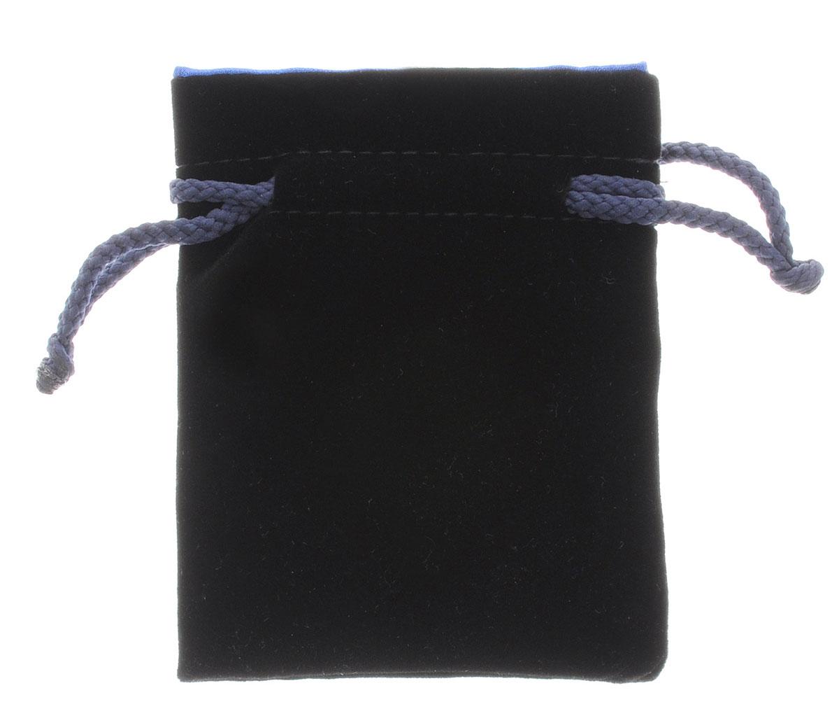 Pandoras Box Мешочек Мини для хранения кубиков и игральных карт цвет черный синий04PB005_черный, синийМешочек Pandoras Box Мини прекрасно подходит для хранения игральных костей, игральных карт, фишек и каунтеров, прочих мелочей и аксессуаров. Мешочек, изготовленный из натурального бархата и атласа, затягивается сверху на шнурок-кулиску.