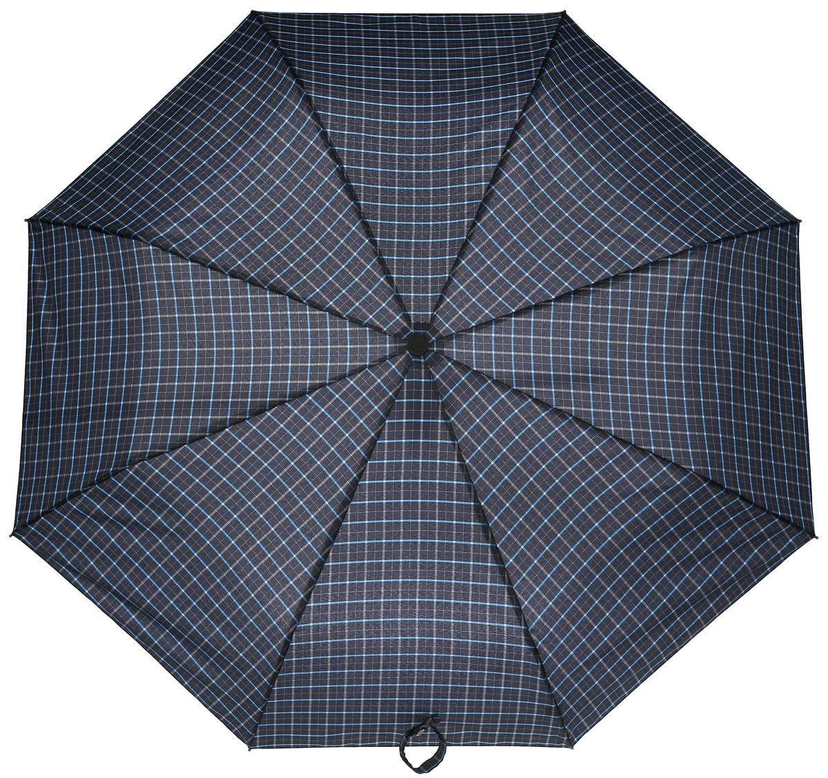 Зонт мужской Flioraj, автомат, 3 сложения, цвет: серый. 31005 FJ31005 FJСдержанность, продуманный стиль, инновационные технологии и современные материалы и сплавы - искусное переплетение инженерных и дизайнерских решений. Плавные линии слегка удлиненной ручки подарят ладоням тепло и комфорт в ненастье. Большой диаметр и форма купола — идеальная защита от дождя.