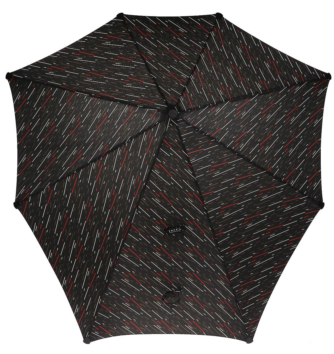 Зонт-трость Senz, цвет: синий. 20110572011057Инновационный противоштормовый зонт, выдерживающий любую непогоду. Форма купола продумана так, что вы легко найдете самое удобное положение на ветру – без паники и без борьбы со стихией. Закрывает спину от дождя. Благодаря своей усовершенствованной конструкции, зонт не выворачивается наизнанку даже при сильном ветре. Характеристики: - тип — трость - выдерживает порывы ветра до 100 км/ч - УФ-защита 50+ - удобная мягкая ручка - безопасные колпачки на кончиках спиц - - в комплекте прочный чехол из плотной ткани с лямкой на плечо - гарантия 2 года Размер купола - 90 х 87 см, длина в сложенном виде - 79 см. Весит 440 г.