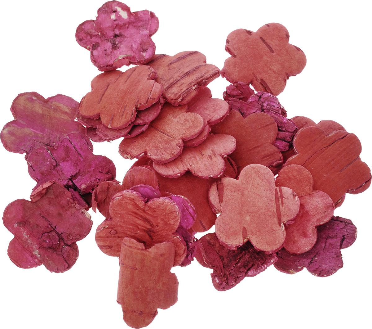 Декоративный элемент Dongjiang Art Цветок, цвет: красный, 30 шт7709008_красныйДекоративный элемент Dongjiang Art Цветок, изготовленный из натуральной коры дерева, предназначен для украшения цветочных композиций. Изделие, выполненное в виде цветка, можно также использовать в технике скрапбукинг и многом другом. Флористика - вид декоративно-прикладного искусства, который использует живые, засушенные или консервированные природные материалы для создания флористических работ. Это целый мир, в котором есть место и строгому математическому расчету, и вдохновению. Размер элемента: 3 х 3 см.