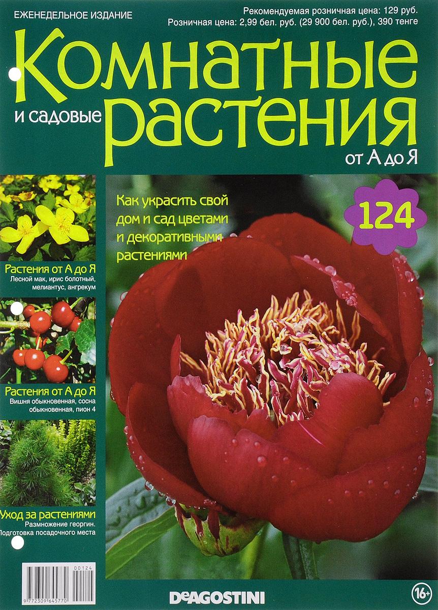 Журнал Комнатные и садовые растения. От А до Я №124VRD124Хотите сделать приятный и полезный подарок людям, увлекающимся цветоводством, или углубить собственные познания в этой сфере? Коллекция журналов Комнатные и садовые растения. От А до Я поможет вам в этом. Из журнала вы узнаете, как украсить свой дом и сад цветами и декоративными растениями. Категория 16+.