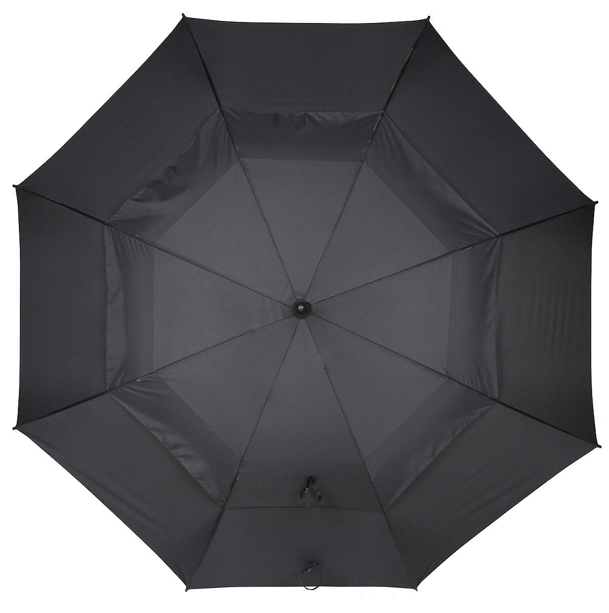 Зонт мужской Flioraj, автомат, 3 сложения, цвет: черный. 232300 FJ232300 FJСдержанность, продуманный стиль, инновационные технологии и современные материалы и сплавы - искусное переплетение инженерных и дизайнерских решений. Плавные линии слегка удлиненной ручки подарят ладоням тепло и комфорт в ненастье. Большой диаметр и форма купола — идеальная защита от дождя. Выдержит любой шторм.