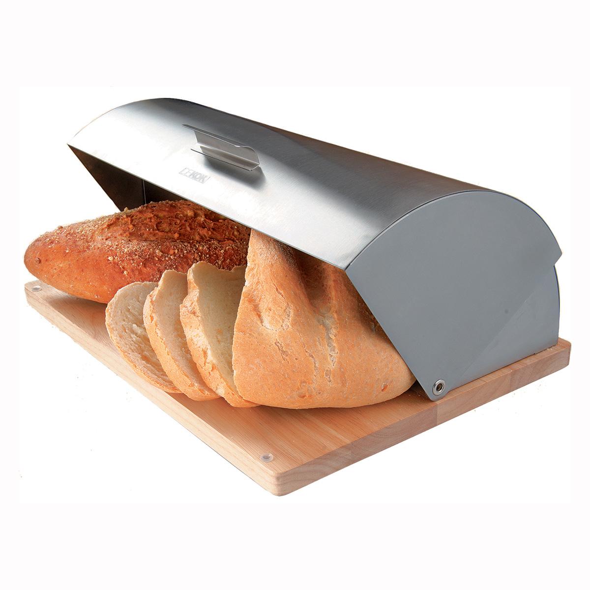 "Хлебница ""Dekok"", цвет: серый, бежевый"