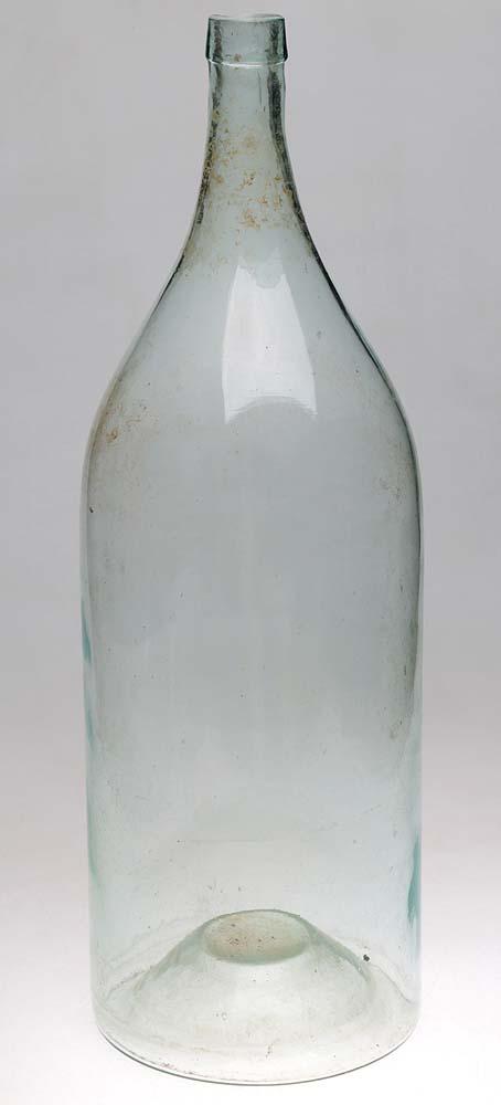Четверть конусная. Зеленое стекло. Российская империя, начало XX века