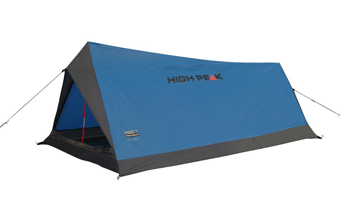 Палатка для трекинга High Peak Minilite 2, цвет: синий