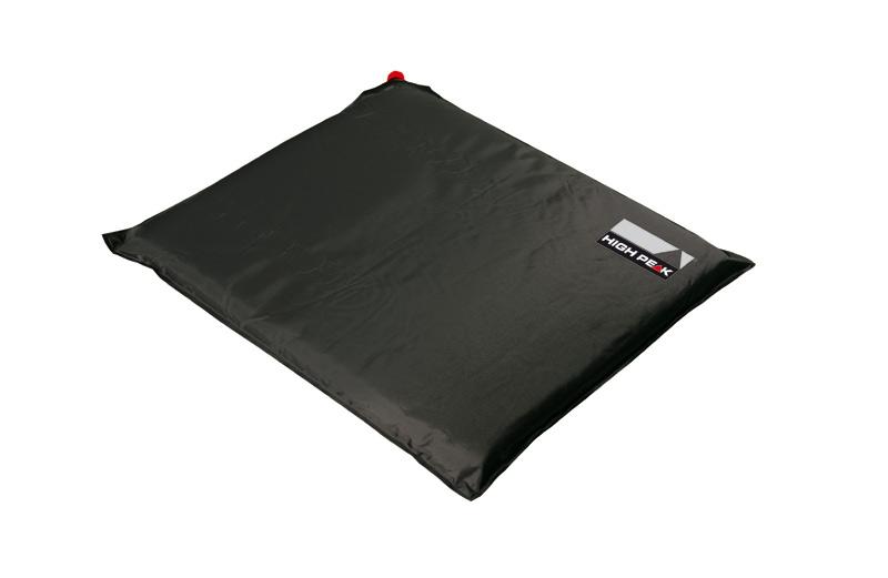 Подушка самонадувающаяся High Peak Sitzkissen, цвет: темно-серый41332Самонадувающаяся сидушка или подушка - легкая и водонепроницаемая. Быстро надувается. Дно сделано из прочного антискользящего полиэстра Oxford.