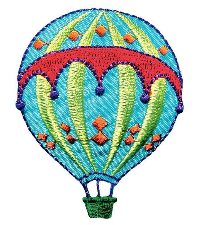 Термоаппликация Prym Воздушный шар, 64 х 93 мм924227