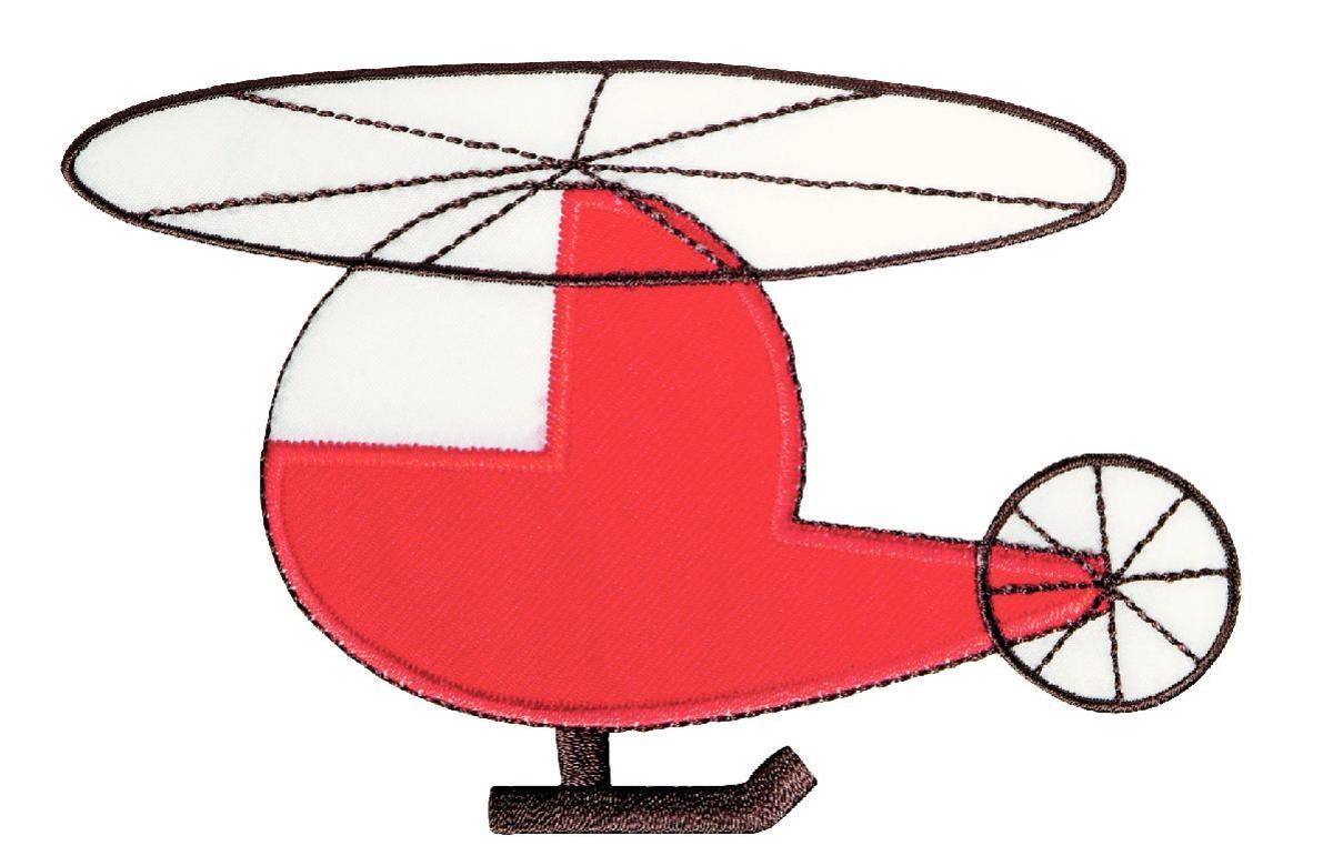 Термоаппликация Prym Вертолет, 104 х 157 мм924266