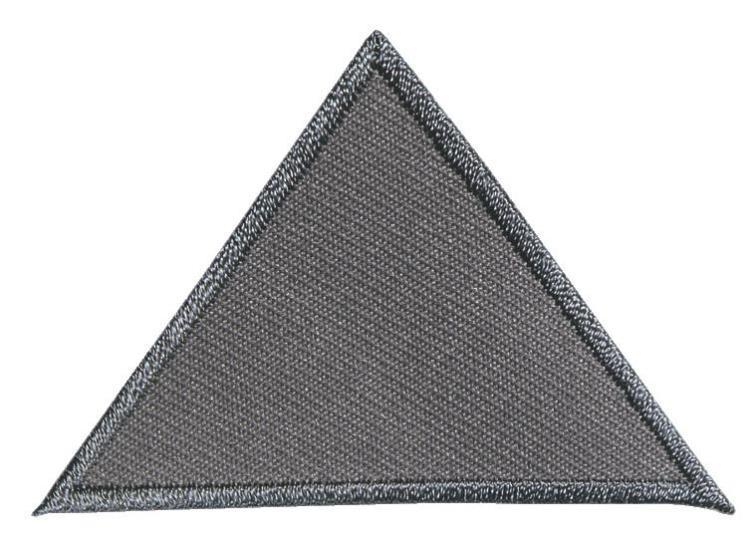 Аппликация Prym Треугольники, цвет: серый925468