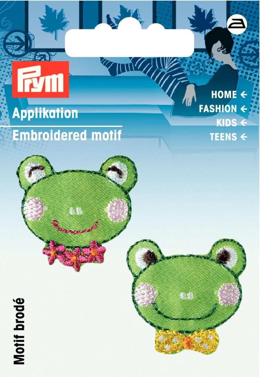 Аппликация Prym Головы лягушек, цвет: зеленый925528
