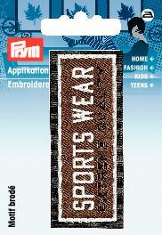 Аппликация Prym Sportswear, цвет: коричневый925812