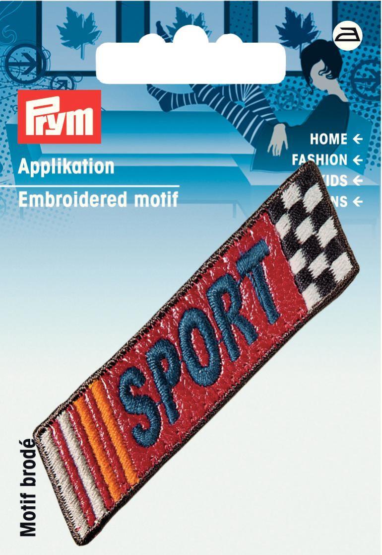 Термоаппликация Prym Sport925990