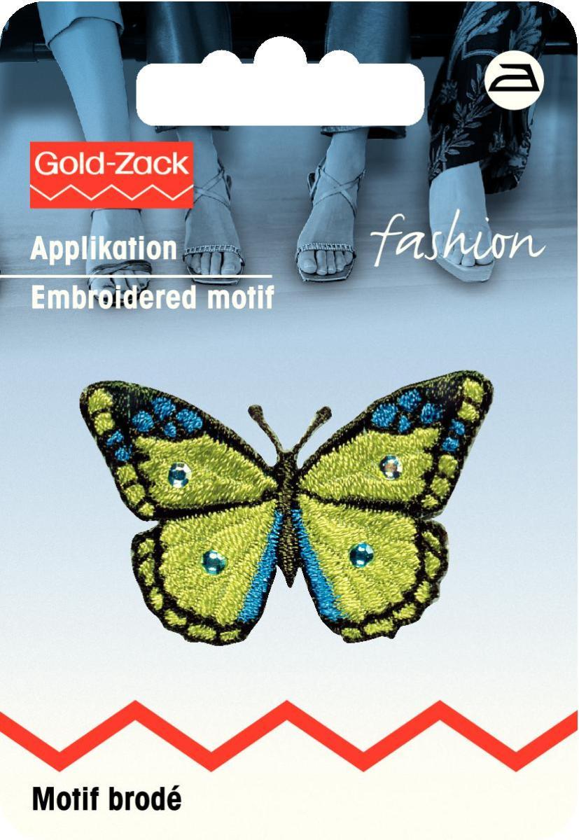 Аппликация Prym Бабочка, цвет: киви926225