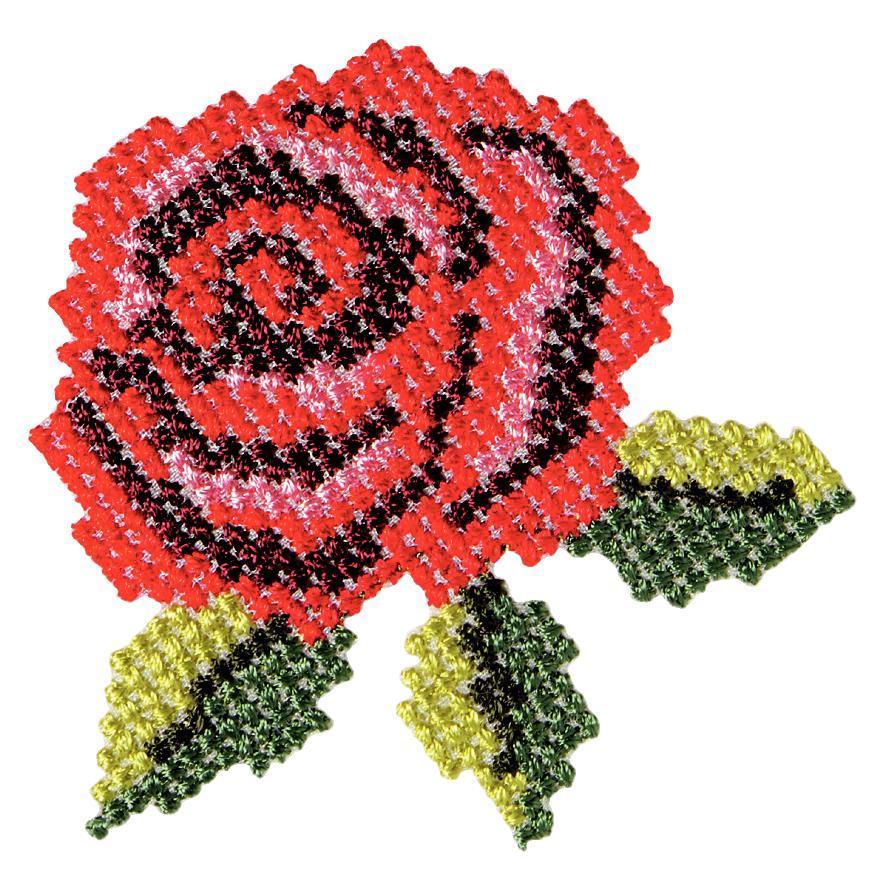 Термоаппликация Prym Роза, 79 х 118 мм926494