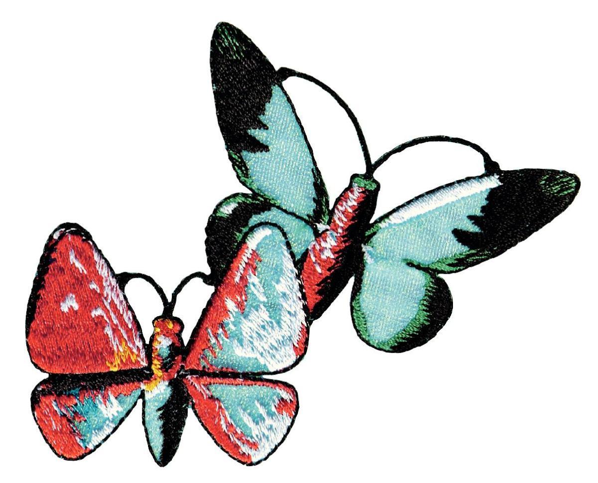 Термоаппликация Prym Бабочки, 94 х 140 мм926609