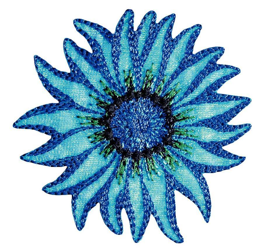 Термоаппликация Prym Цветок, 64 х 93 мм. 926620926620
