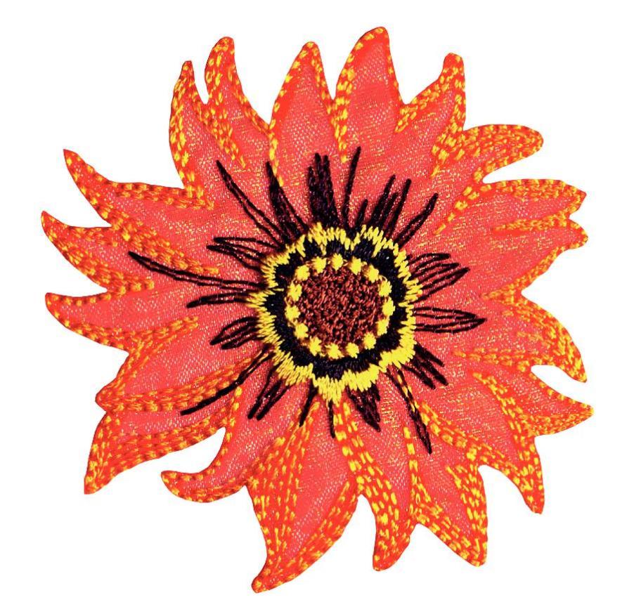 Термоаппликация Prym Цветок, 64 х 93 мм. 926621926621