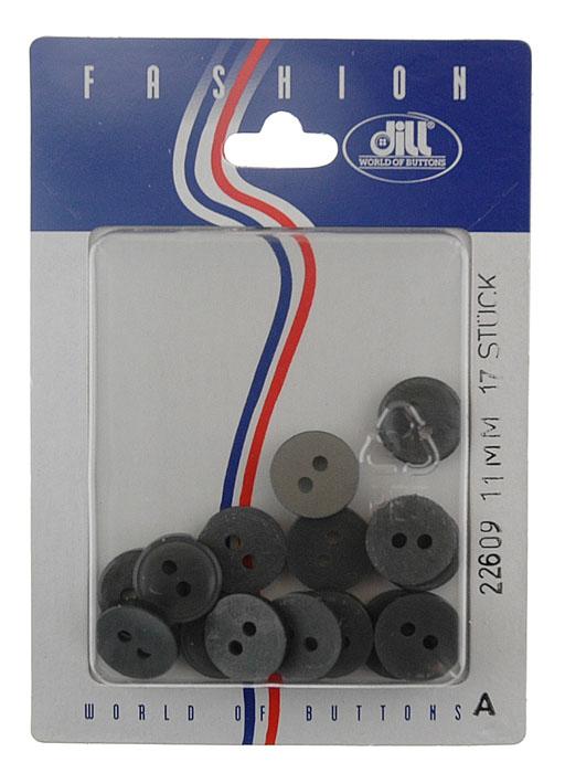 Пуговицы Dill, диаметр 11 мм, пластик, 17 шт. 022609/11-17022609/11-17