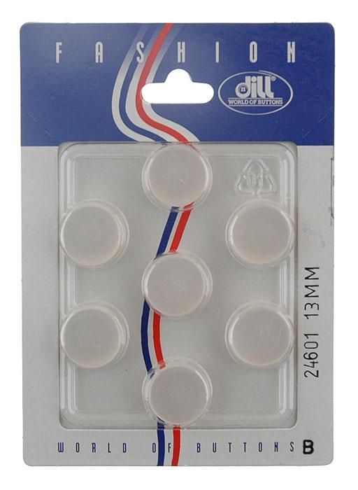 Пуговицы Dill, диаметр 13 мм, пластик, 7 шт. 024601/13-7024601/13-7