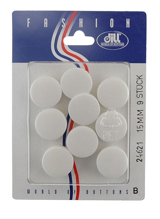 Пуговицы Dill, диаметр 15 мм, пластик, 9 шт. 024621/15-9024621/15-9