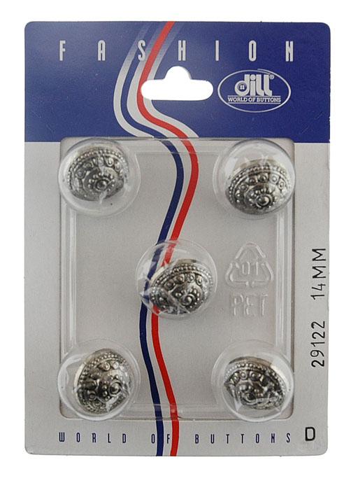 Пуговицы Dill, диаметр 14 мм, пластик, 5 шт. 029122/14-5029122/14-5