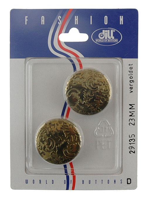 Пуговицы Dill, диаметр 23 мм, пластик, 2 шт. 029135/23-2029135/23-2