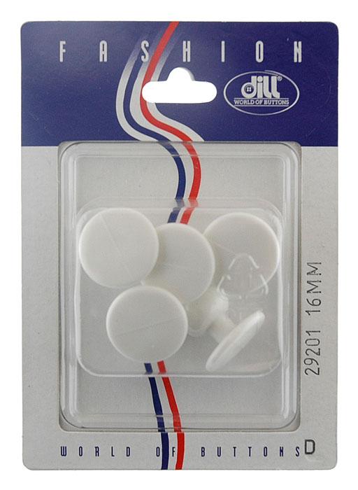 Пуговицы Dill, диаметр 16 мм, пластик, 5 шт. 029201/16-5029201/16-5