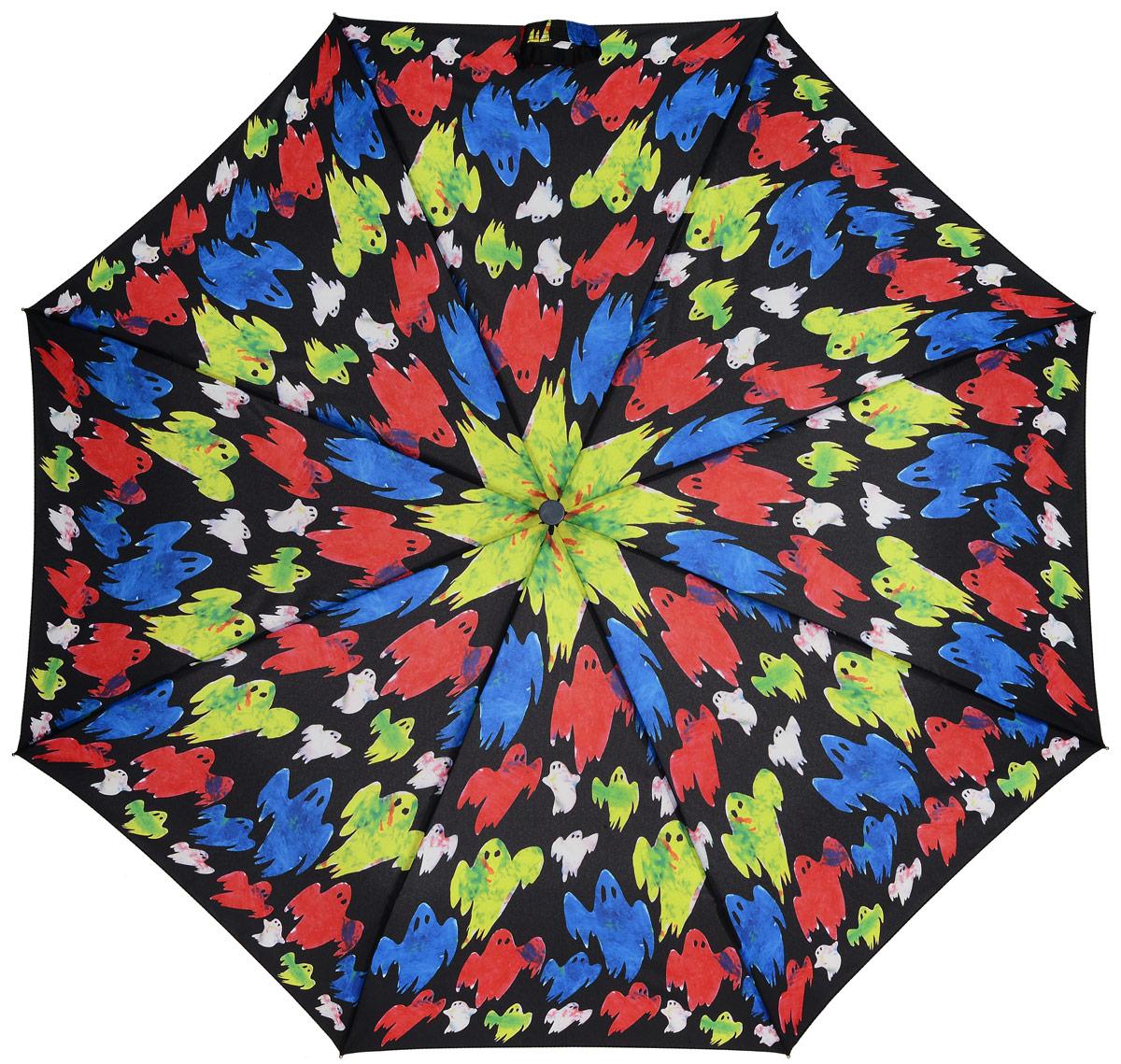 Зонт женский механика Simeon Farrar Fulton, расцветка: призраки. E446-2450 GhostsE446-2450 GhostsЗамечательный, необыкновенно компактный зонт. Запатентованная безопасная технология замка. Уникальный супер-прочный. Увеличенный купол Длина в сложенном виде 25 см. Диаметр купола 96 см.