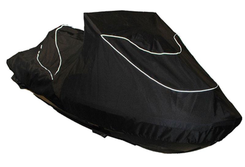 Чехол AG-brand, для гидроцикла BRP RXT 260 RS (2015)AG-BRP-WV-Piranha-TCЧехол AG-brand предназначен для хранения и транспортировки гидроцикла BRP RXT 260 RS. Он изготовлен из высокопрочной плотной тентовой ткани с высоким показателем водоупорности. По нижней кромке чехла вшита плотная резинка, обеспечивающая надежную фиксацию на гидроцикле. Чехол имеет светоотражающий кант, клапана для выхода избыточного воздуха и молнию под заливную горловину бака. В комплект транспортировочного чехла входит прочная текстильная стропа для крепления техники в прицепе или специальном боксе для перевозки. Чтобы любое транспортное средство служило долгие годы, необходимо не только соблюдать все правила его эксплуатации, но и правильно его хранить. Негативное влияние на состояние техники оказывают прямые солнечные лучи, влага, пыль, которые не только могут вызвать коррозию внешних металлических поверхностей, но и вывести из строя внутренние механизмы транспортных средств. Необходимо создать условия для снижения воздействия этих...