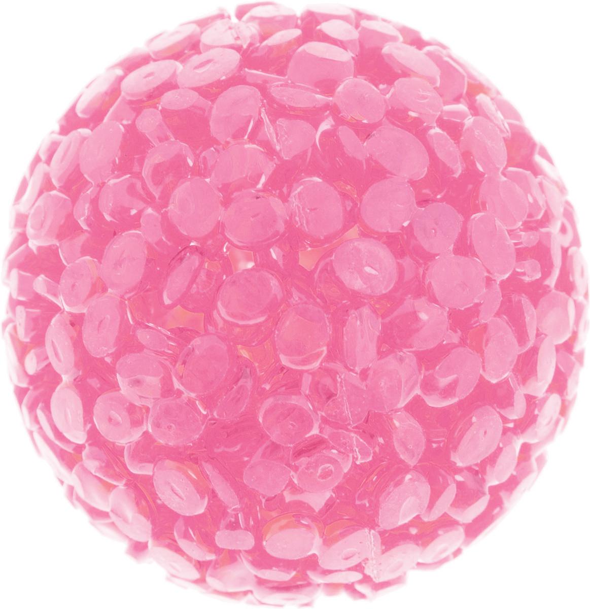 Игрушка для животных Каскад Мячик блестящий, цвет: розовый, диаметр 4 см27799310Игрушка для животных Каскад Мячик блестящий изготовлена из высококачественной синтетики. Внутри изделия имеется небольшой бубенчик, который привлечет внимание питомца. Такая игрушка порадует вашего любимца, а вам доставит массу приятных эмоций, ведь наблюдать за игрой всегда интересно и приятно. Диаметр игрушки: 4 см.
