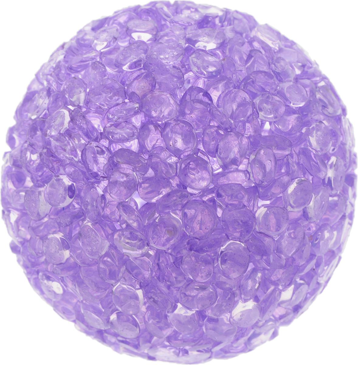 Игрушка для животных Каскад Мячик блестящий, цвет: фиолетовый, диаметр 4 см27799312Игрушка для животных Каскад Мячик блестящий изготовлена из высококачественной синтетики. Внутри изделия имеется небольшой бубенчик, который привлечет внимание питомца. Такая игрушка порадует вашего любимца, а вам доставит массу приятных эмоций, ведь наблюдать за игрой всегда интересно и приятно. Диаметр игрушки: 4 см.