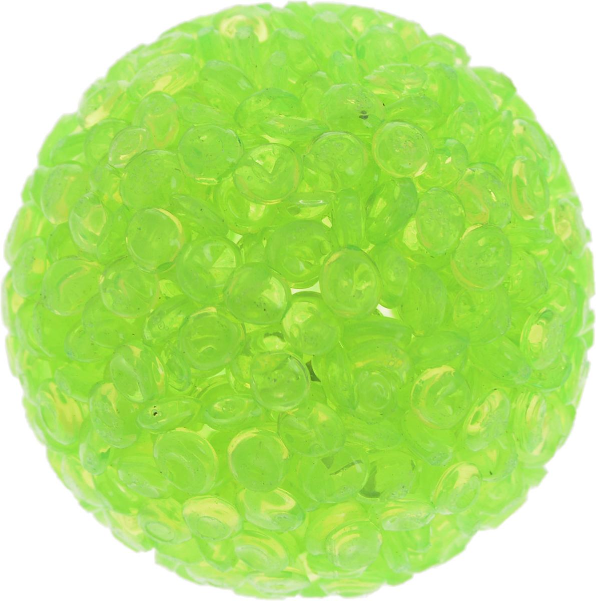Игрушка для животных Каскад Мячик блестящий, цвет: салатовый, диаметр 4 см27799311Игрушка для животных Каскад Мячик блестящий изготовлена из высококачественной синтетики. Внутри изделия имеется небольшой бубенчик, который привлечет внимание питомца. Такая игрушка порадует вашего любимца, а вам доставит массу приятных эмоций, ведь наблюдать за игрой всегда интересно и приятно. Диаметр игрушки: 4 см.