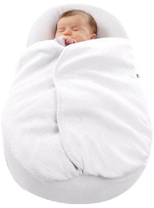 одеяло для Cocoonababy® / QUILTED COCOONACOVER WHITE449134Благодаря новому одеялу, специально разработанному для эргономичного кокона Cocoonababy, малышу всегда будет тепло и уютно. Нежный хлопок Fleur de Coton дружелюбен к коже ребенка. Форма одеяла повторяет формы кокона и застегивается на груди, маме больше не стоит беспокоиться, что кроха натянет его на лицо. Одеяло специально разработано для Cocoonababy и дает возможность укрыть\раскрыть малыша без пробуждения. Его специальная форма дает возможнось не укрывать нос и рот малыша. Одеяло используйте только при полной комплектации Cocoonababy (включающую пояс и регулятор).