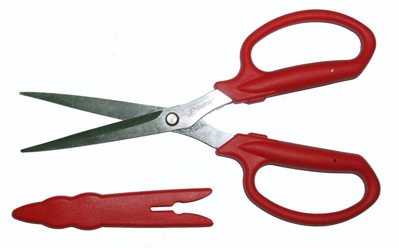 Ножницы Skrab, универсальные, с футляром, 185мм. 2801628016Ножницы универсальные садовые 185 мм Легкие ножницы для цветоводческих работ и озеленения. Длинные лезвия облегчают доступ к неудобно расположенным стеблям. Защитный футляр позволяет безопасно хранить и переносить ножницы.