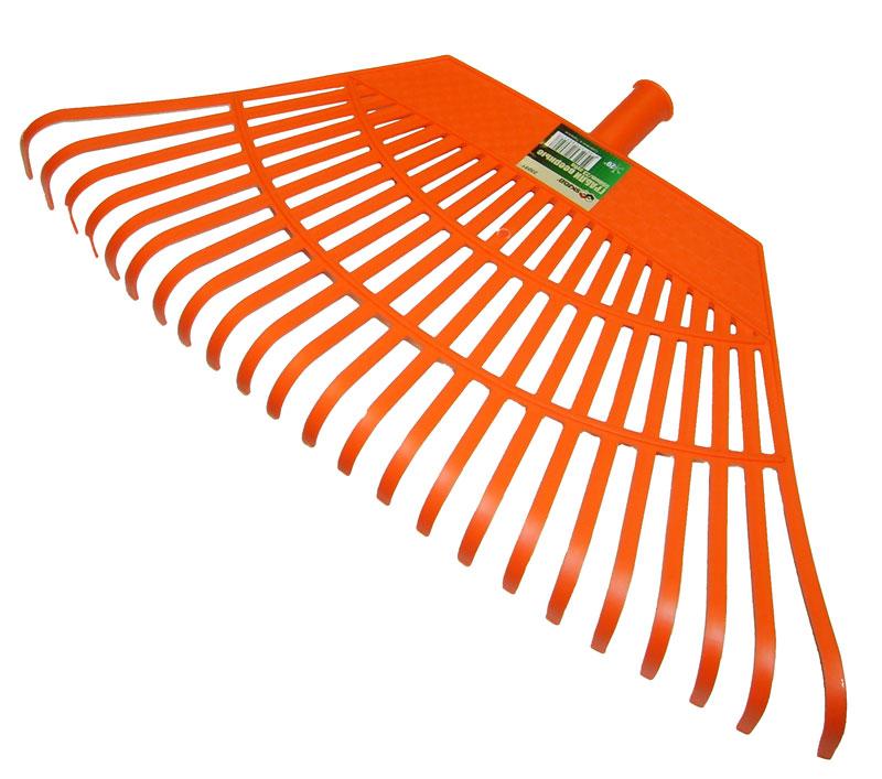 Грабли веерные Skrab, 550ммх23зуб. 2805128051Грабли веерные пластиковые 550 мм, 23 зуба. Грабли для газонов SKRAB идеально подходят для уборки листьев, срезанной травы и прочего садового мусора. Высококачественный пластик, из которого изготовлены грабли, гарантируют надежность и долговечность их эксплуатации, выдерживает хранение даже при минусовой температуре. На рабочей поверхности расположены прочные пластиковые зубья, что значительно облегчает процесс уборки, не нанося вреда газону.
