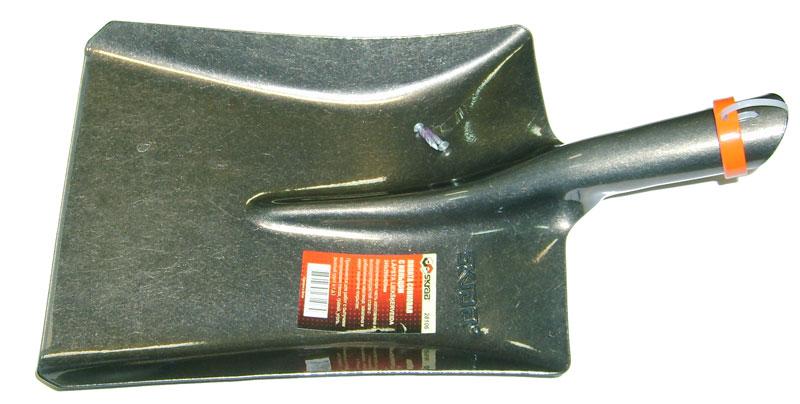 Лопата Skrab совковая, с кольцом. 2810628106Лопата совковая с кольцом (без черенка). Размер: 245х295х420мм. Металлическая часть изготовлена из высокоуглеродистой стали с добавлением марганца. Закалена и имеет защитное покрытие. Применяется для выполнения земляных и строительных работ с сыпучими материалами (песок, гравий, уголь, рыхлый грунт и т.д.).