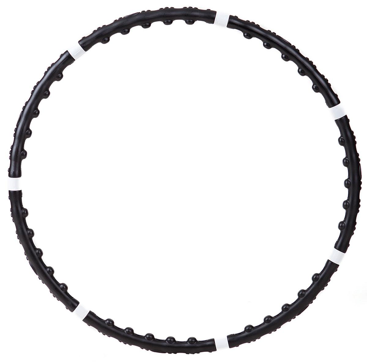 Обруч Bradex, утяжеленный, массажный, с магнитными вставкамиSF 0002Массажный утяжеленный обруч Bradex отлично подтянет живот, улучшит талию и поможет похудеть. Обруч оснащен магнитами. Благодаря такому устройству, происходит сочетание элементов обычного хула- хупа с техникой аккупунктурного массажа. Магниты, идущие в комплекте с обручем, оказывают противовоспалительный, седативный, болеутоляющий эффект. Вы не только улучшите контуры фигуры за счет сжигания подкожного жира в области талии и живота, но и обретете хорошее самочувствие. Обруч состоит из 7 секций и является разборным, что облегчает его транспортировку. Характеристики: Материал: ПВХ, магнит. Диаметр обруча: 100 см. Вес обруча: 1,3 кг. Размер упаковки: 47 х 25 х 7,5 см.