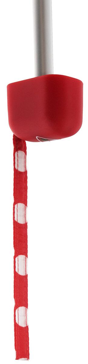 Зонт женский механика Fulton, расцветка: красный горох. L501-2237 RedSpot