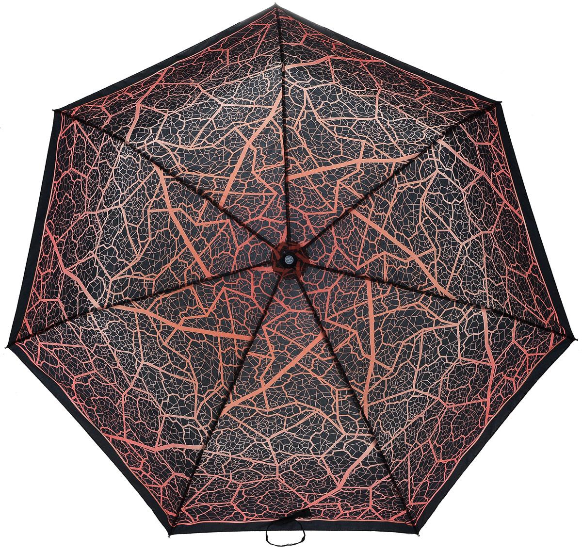 Зонт женский Henry Backer, 3 сложения, цвет: оранжевый. U26202 DesertU26202 DesertЖенский зонт «Пустыня» с куполом практичного цвета, автомат Зонт достаточно легок для автоматов благодаря использованию наряду со сталью алюминия и фибергласса, конструкция каркаса ветроустойчивая, рукоятка выполнена из нескользящего материала.