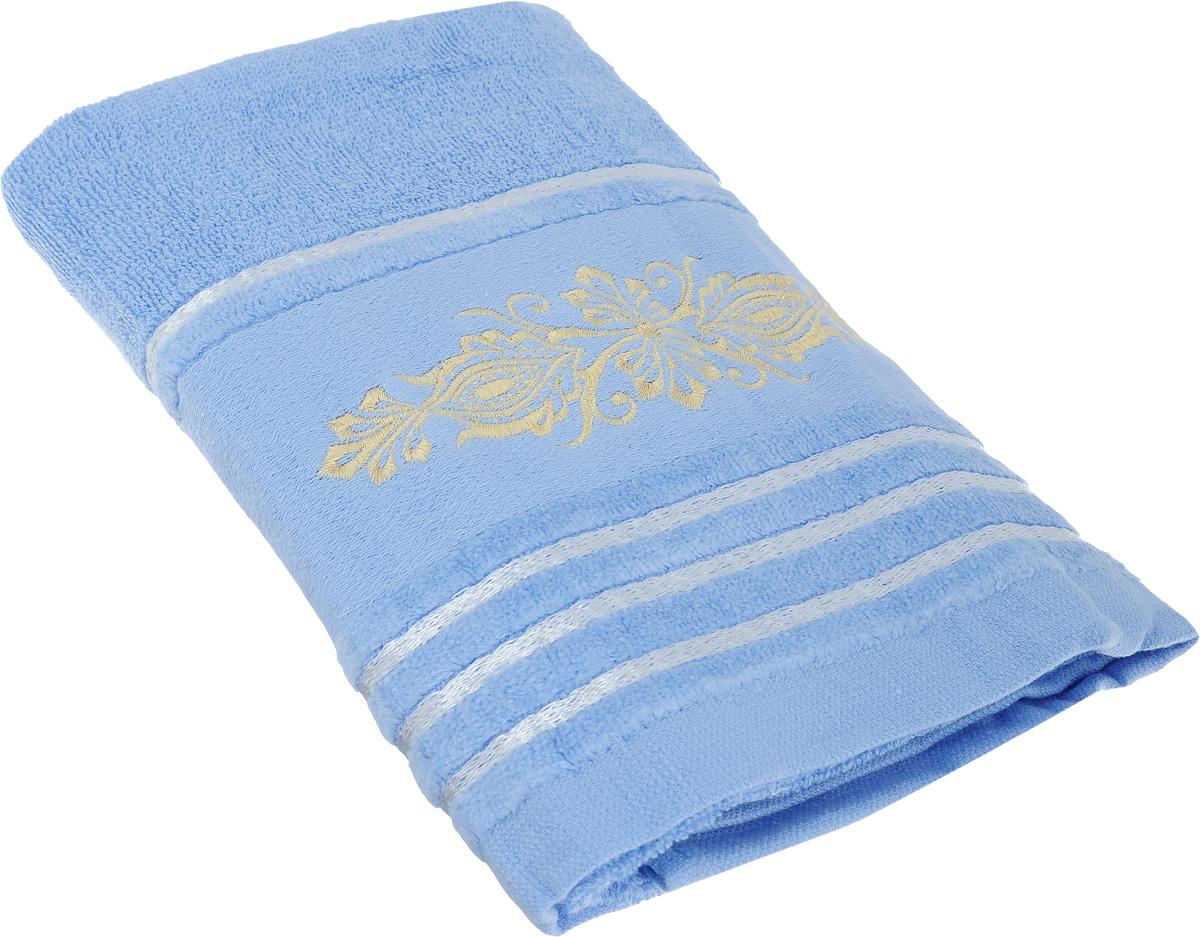 Полотенце Arya Mondo, цвет: голубой, 50 х 100 смF0003547_голубойПолотенце Arya Mondo выполнено из 100% хлопка. Изделие отлично впитывает влагу, быстро сохнет, сохраняет яркость цвета и не теряет форму даже после многократных стирок. Такое полотенце очень практично и неприхотливо в уходе. Оно создаст прекрасное настроение и украсит интерьер в ванной комнате.