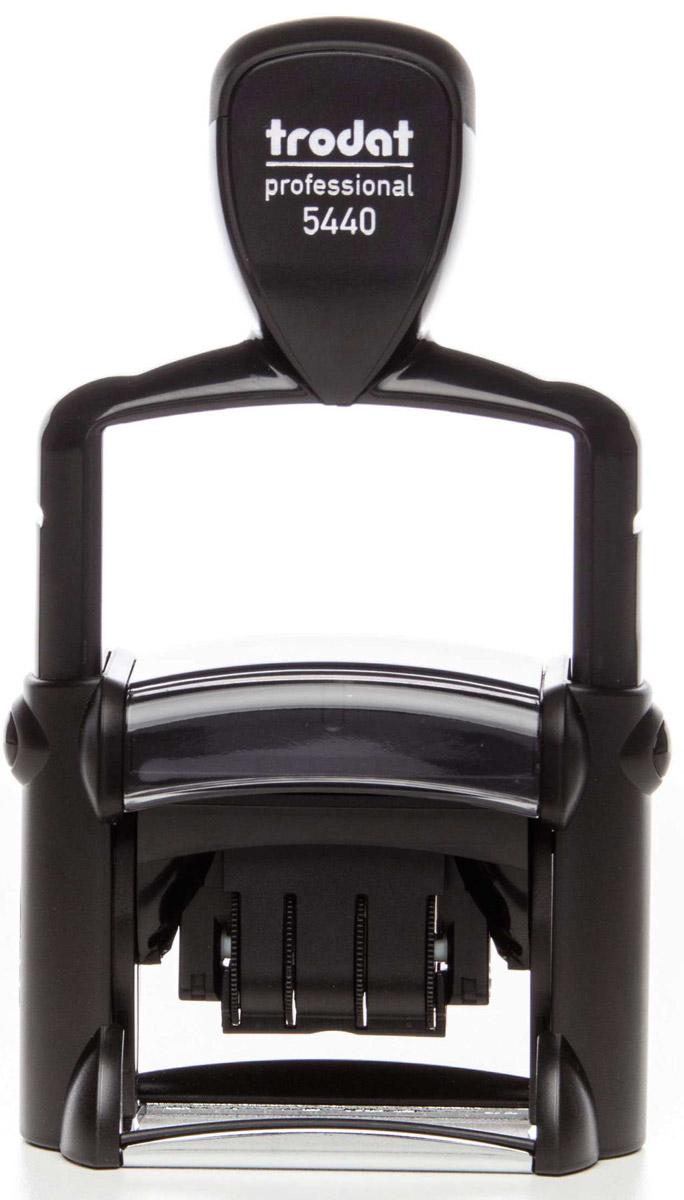 Trodat Датер со свободным полем месяц буквами 47х26 мм высота шрифта даты 4 мм