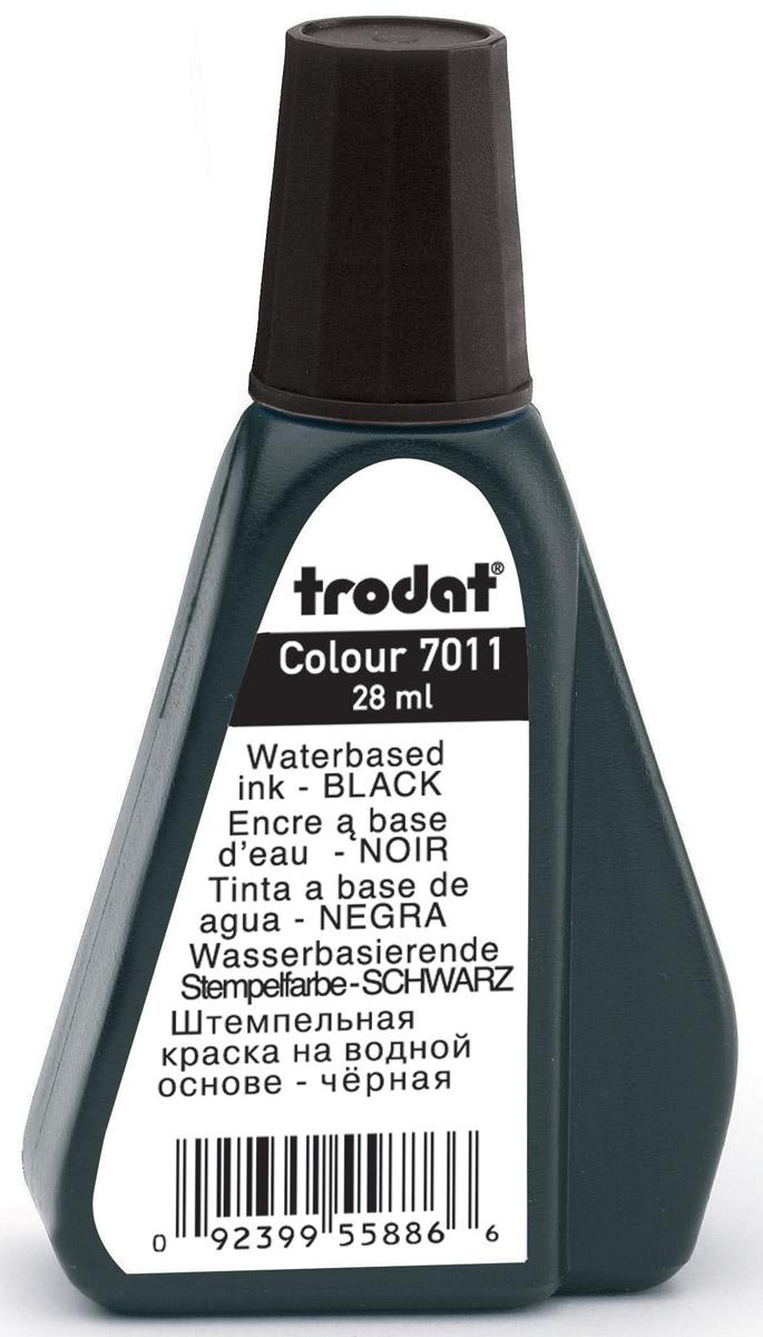 Trodat Штемпельная краска черная 28 мл ( 7011ч )