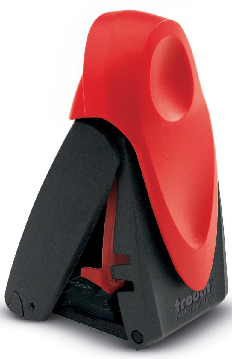 Trodat Оснастка для печати и штампа автоматическая карманная красная
