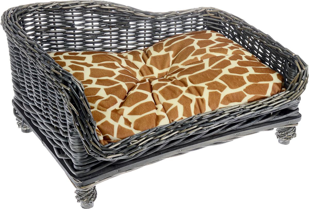Лежак-диван Каскад №3, плетеный, угловой, 67 х 52 х 37 см91002786Угловой лежак-диван для животных Каскад №3, изготовленный из лозы ротанга, дополнен мягкой подушкой и высокими плетеными бортиками. Материал чехла подушки выполнен из мягкого и приятного на ощупь текстиля, наполнитель - полиэстер. Такой лежак-диван станет любым местом вашего питомца. Благодаря качественному изготовлению лежак-диван не повредит напольное покрытие.