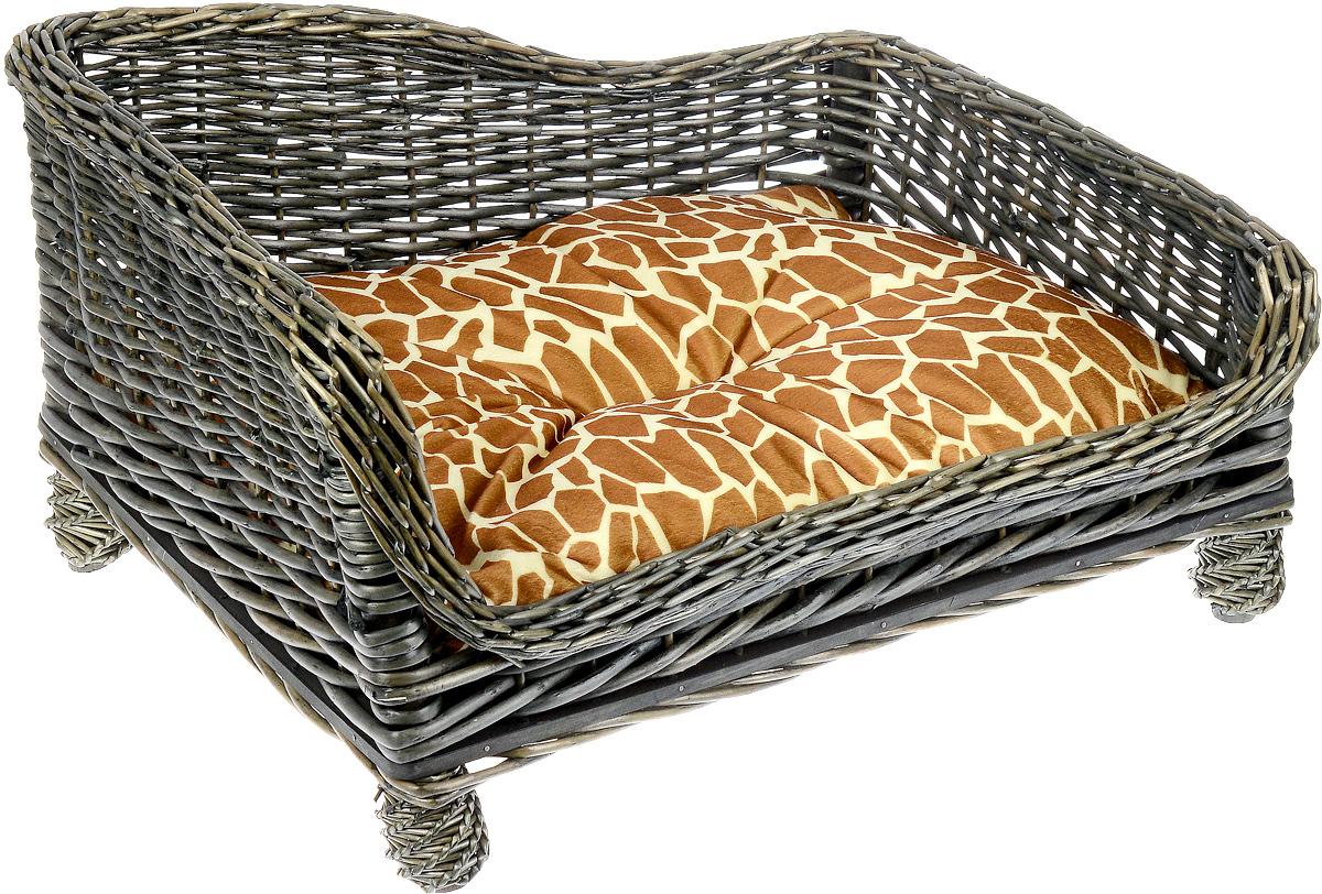 Лежак-диван Каскад №1, плетеный, угловой, 52 х 36 х 27 см91002784Угловой лежак-диван для животных Каскад №1, изготовленный из лозы ротанга, дополнен мягкой подушкой и высокими плетеными бортиками. Материал чехла подушки выполнен из мягкого и приятного на ощупь текстиля, наполнитель - полиэстер. Такой лежак-диван станет любым местом вашего питомца. Благодаря качественному изготовлению лежак-диван не повредит напольное покрытие.