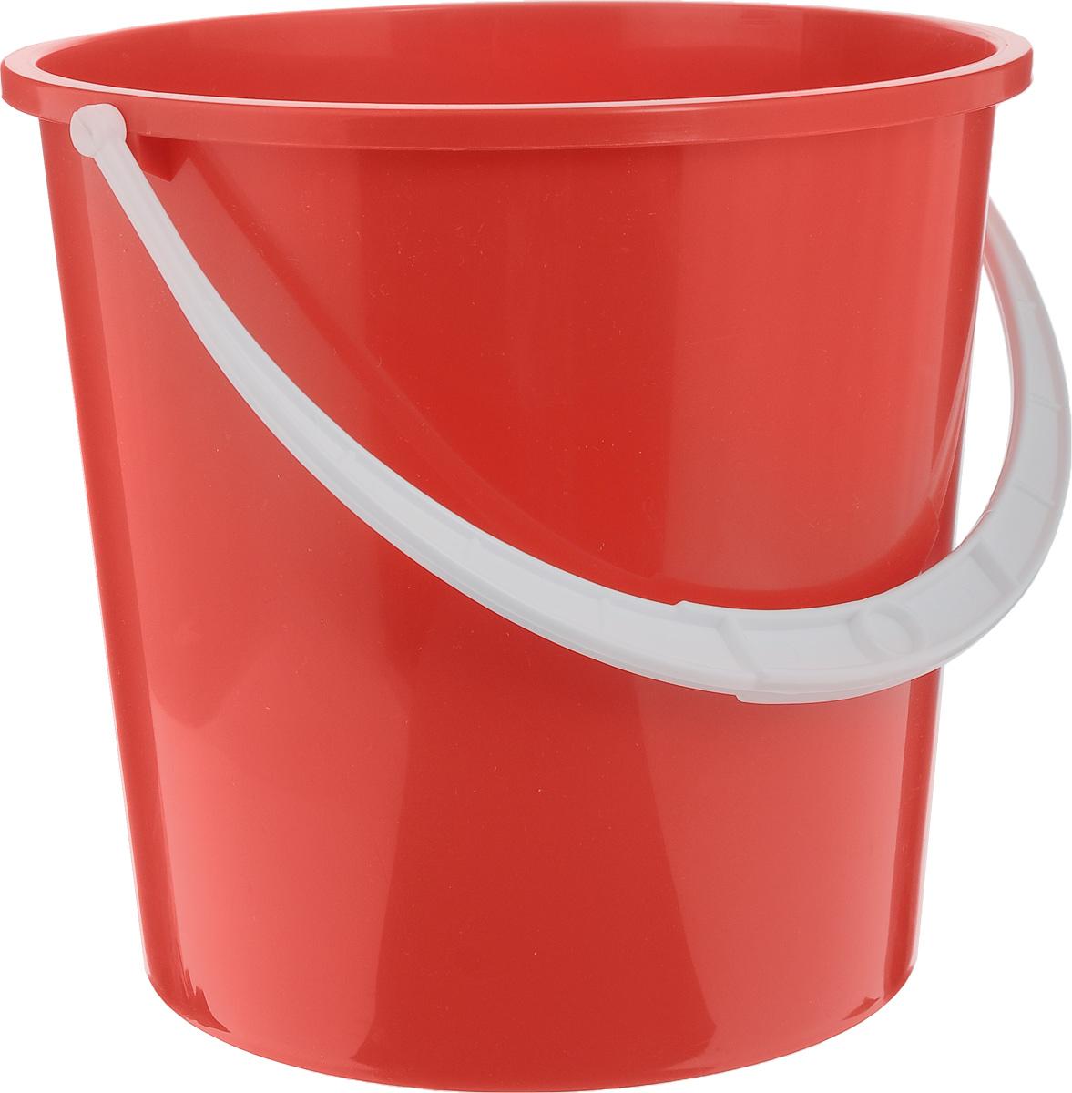 Ведро Альтернатива Крепыш, цвет: красный, 5 лК340_красныйВедро Альтернатива Крепыш изготовлено из высококачественного одноцветного пластика. Оно легче железного и не подвержено коррозии. Ведро оснащено удобной пластиковой ручкой. Такое ведро станет незаменимым помощником в хозяйстве. Диаметр (по верхнему краю): 22 см. Высота: 20,5 см.