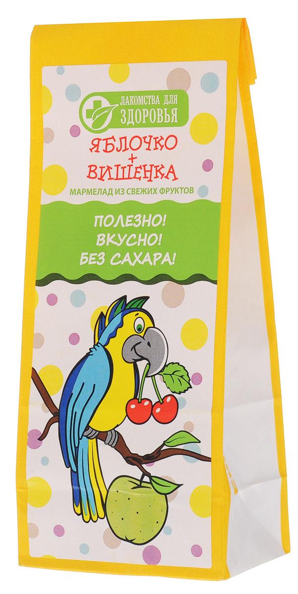 Лакомства для здоровья Яблочко+Вишенка мармелад желейный, 55 г