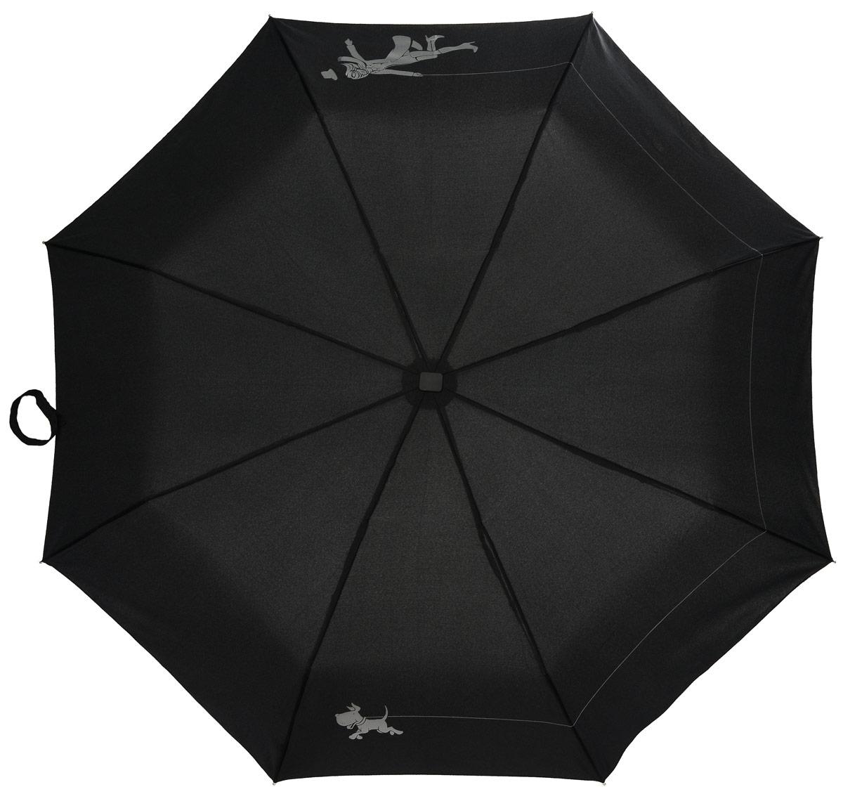 Зонт женский автомат Fulton, расцветка: девочка с собачкой. J738-2121 WalkingTheDogJ738-2121 WalkingTheDogПолный автомат Плоский ветростойкий алюминиевый каркас в 3 сложения 8 спиц длина спиц - 53 см материал купола - полиэстер длина сложенного зонта - 28 см размер 97 см